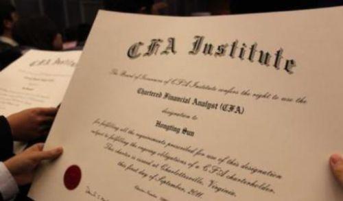 CFA准考证学员问题解答!